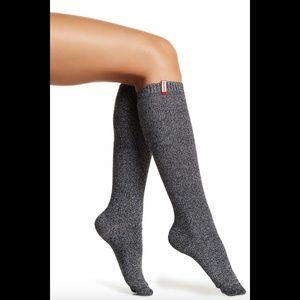 NIB $55 Hunter Mouline Original KS Under-Knee Sock